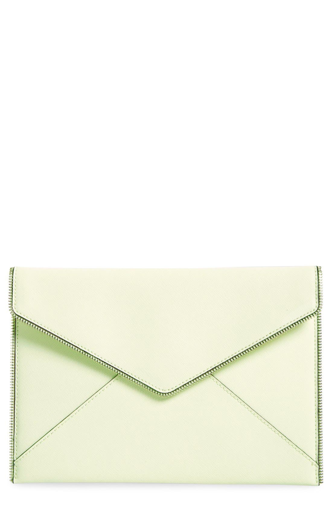 ,                             Leo Envelope Clutch,                             Main thumbnail 156, color,                             301