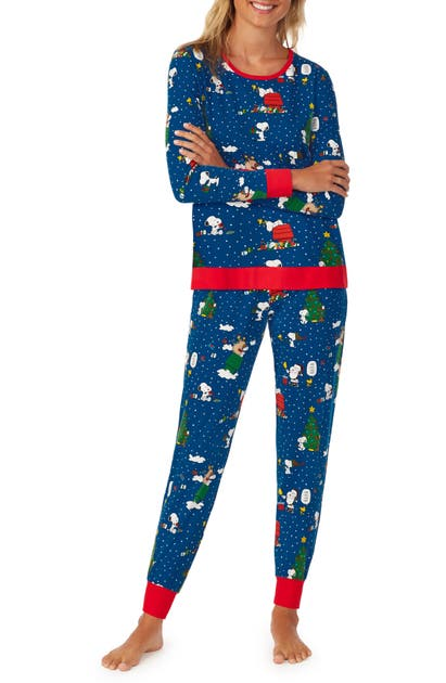 Bedhead Pajamas BEDHEAD SNOOPY SEASON OF GIVING PAJAMAS