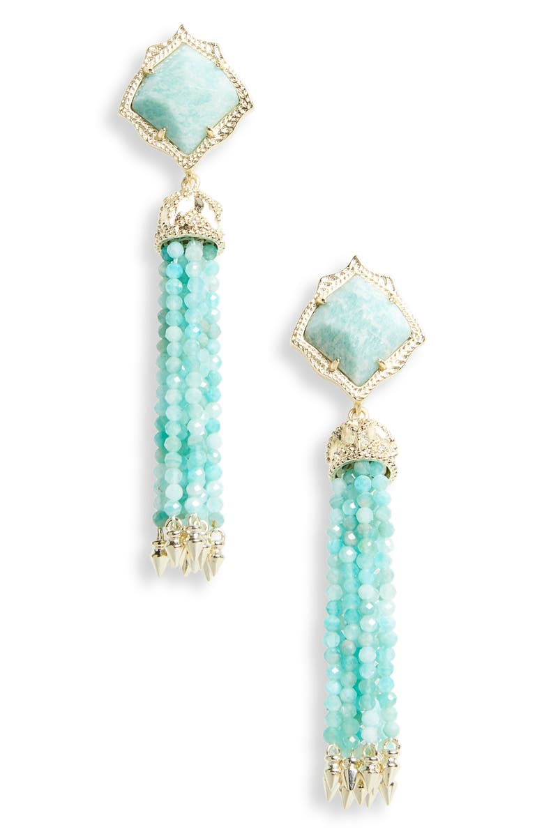 KENDRA SCOTT Misha Tassel Earrings, Main, color, 441