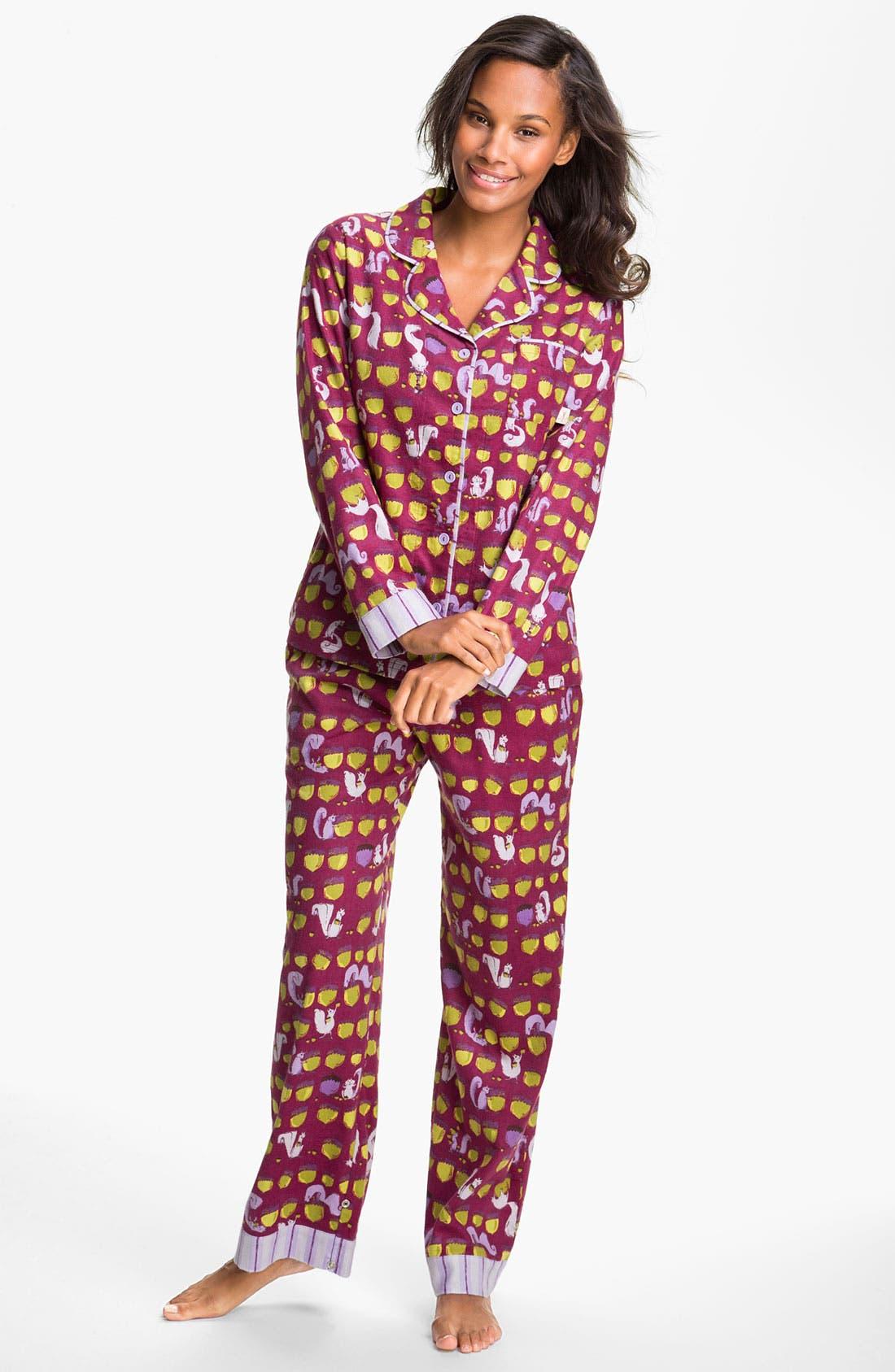 ,                             Flannel Pajamas,                             Main thumbnail 51, color,                             500