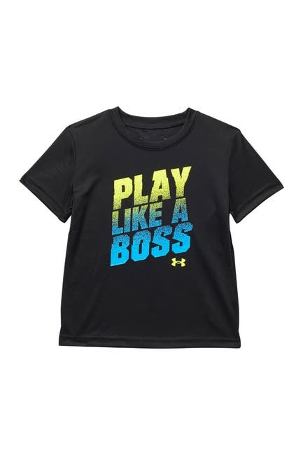 Image of Under Armour Play Like A Boss T-Shirt