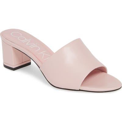 Calvin Klein Noelly Slide Sandal, Pink