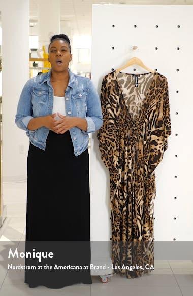 Tie Front Caftan Maxi Dress, sales video thumbnail