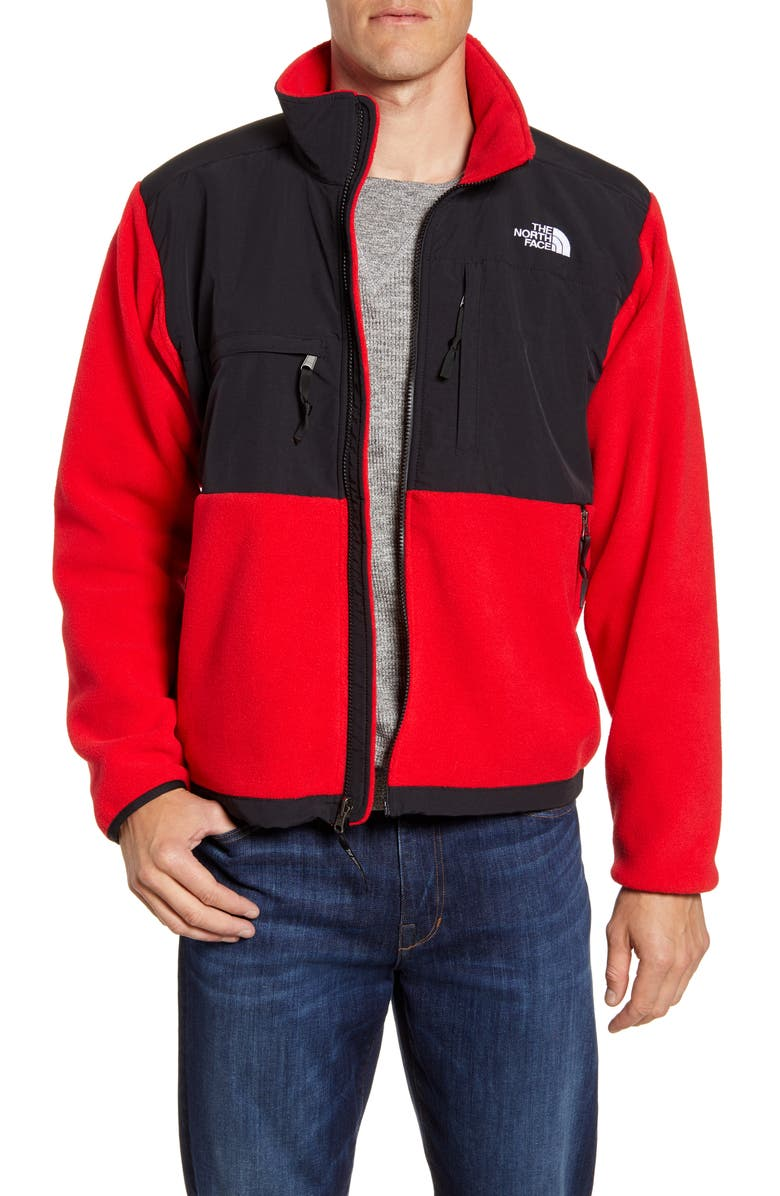 THE NORTH FACE 1995 Retro Denali Recycled Fleece Jacket, Main, color, TNF RED