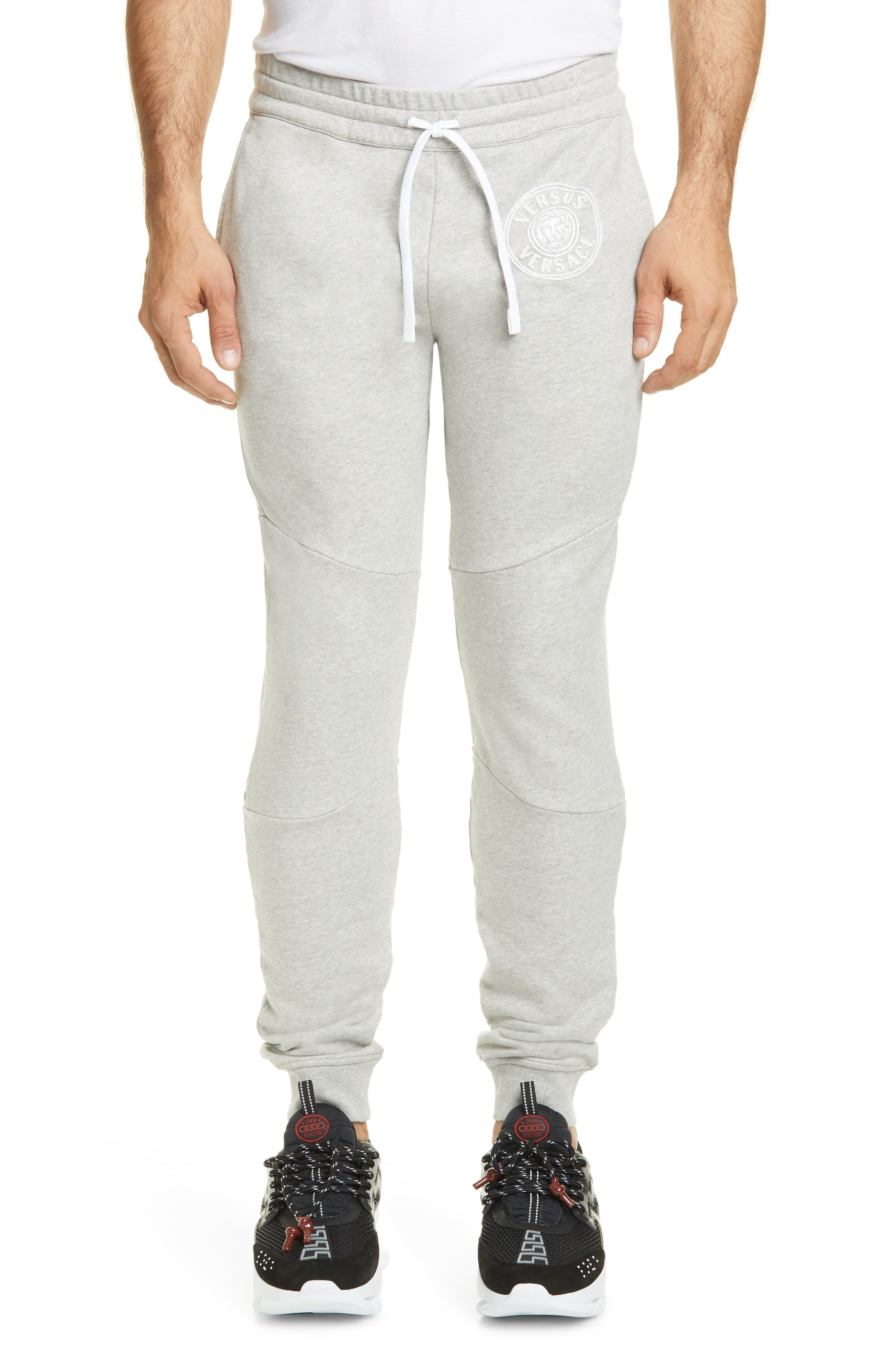 Men's Versus Versace Skinny Fit Logo Sweatpants