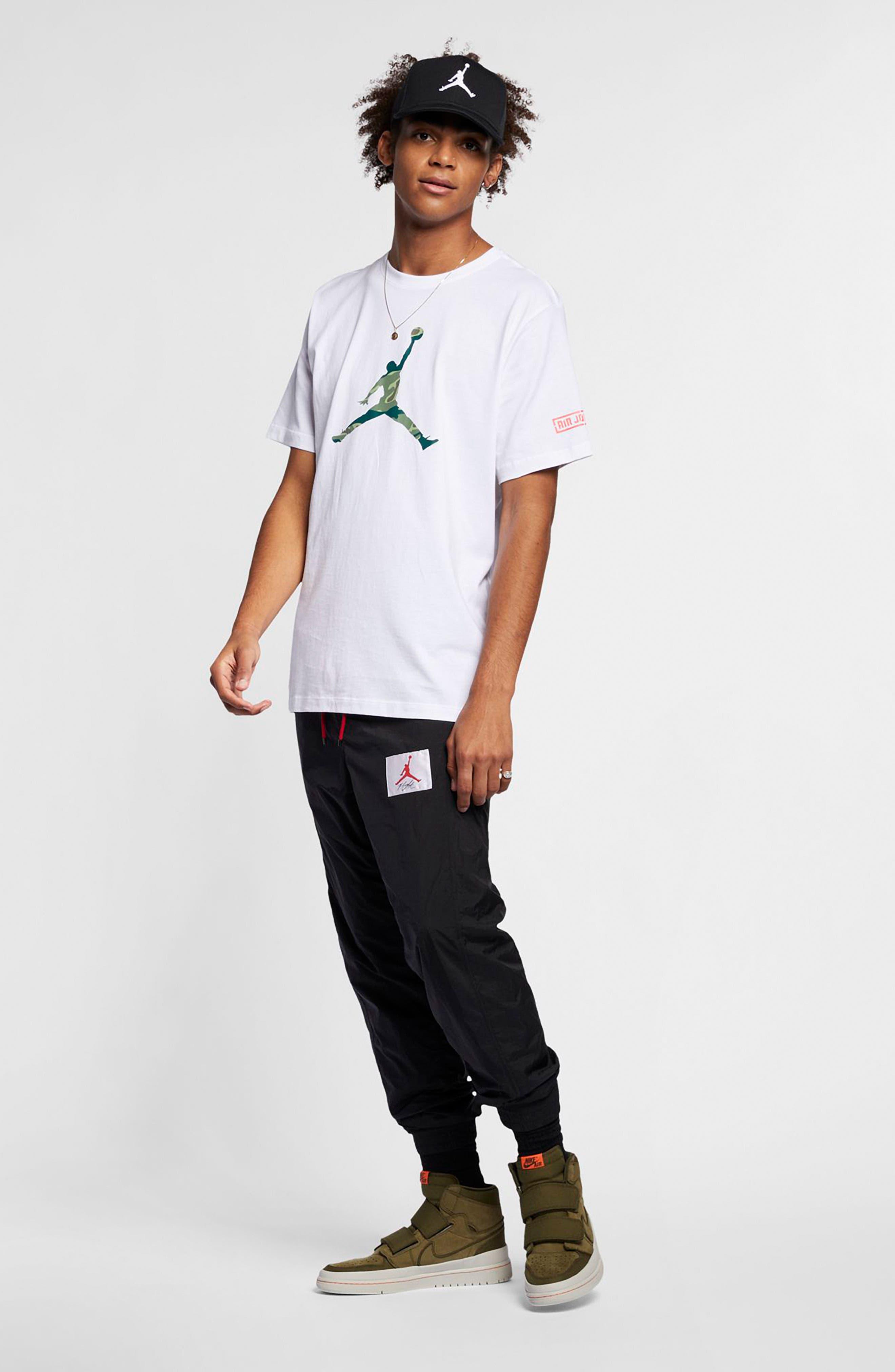 ,                             Camo Jumpman T-Shirt,                             Alternate thumbnail 15, color,                             100