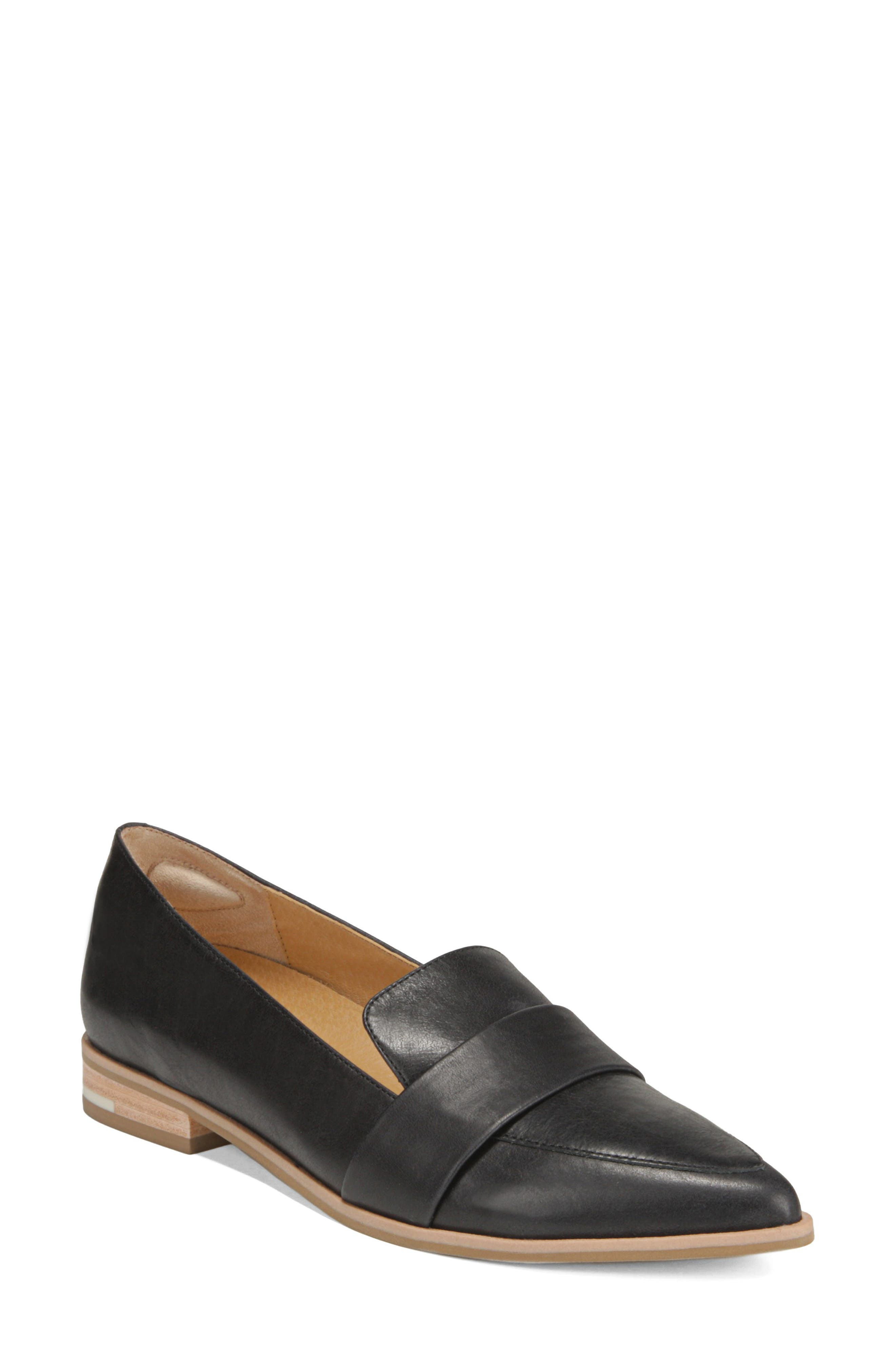 ,                             Faxon Loafer,                             Main thumbnail 1, color,                             BLACK LEATHER