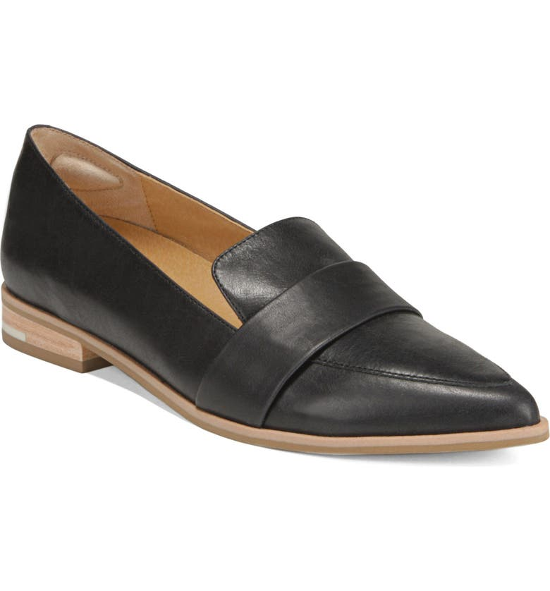 DR. SCHOLL'S Faxon Loafer, Main, color, BLACK LEATHER