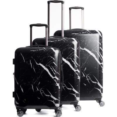 Calpak Astyll 3-Piece Marbled Luggage Set -