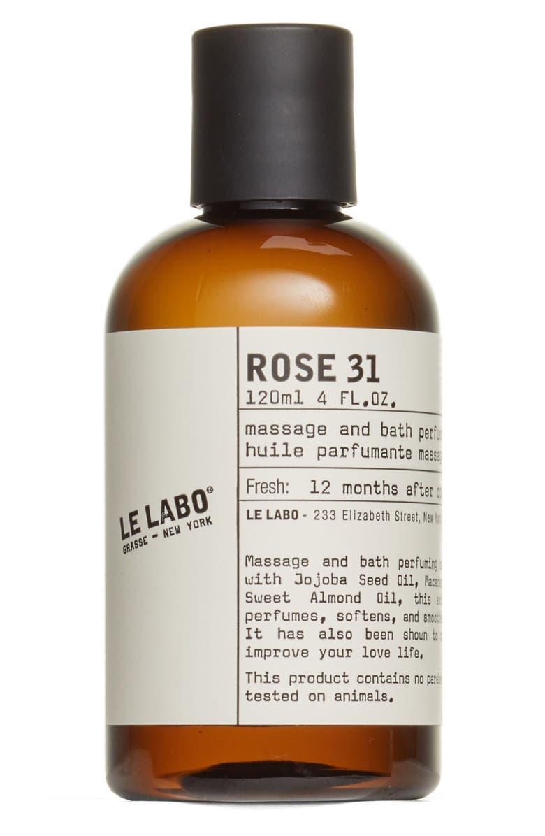 LE LABO Rose 31 Body Oil, Main, color, NO COLOR