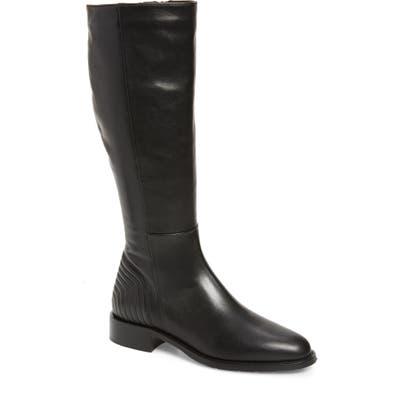 Aquatalia Nathalia Water Resistant Knee High Boot, Black