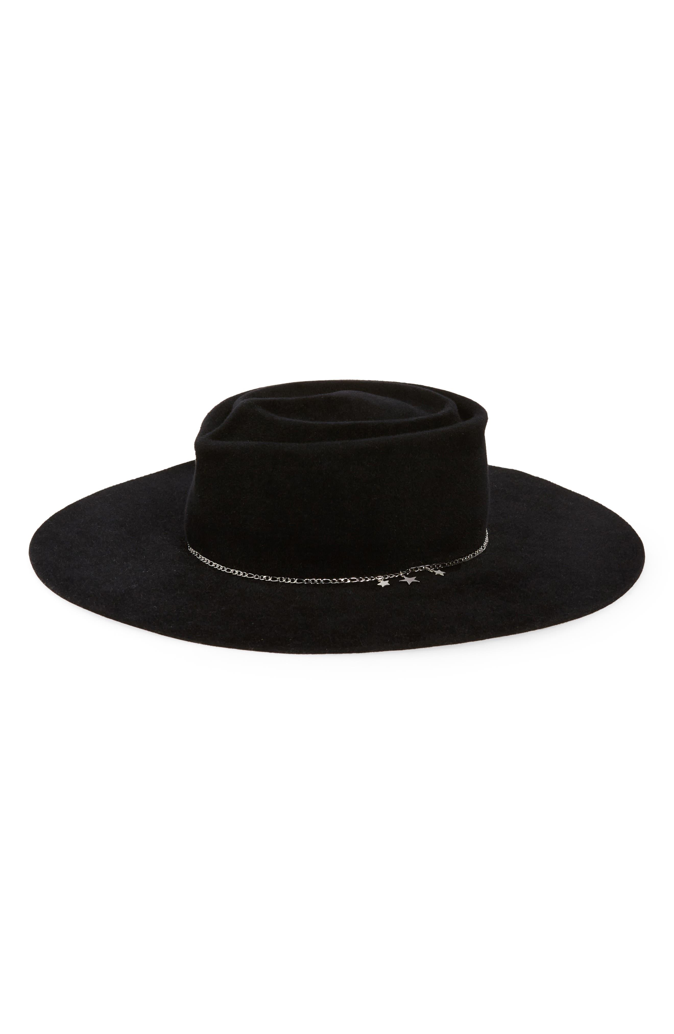 Goldie Fur Felt Hat