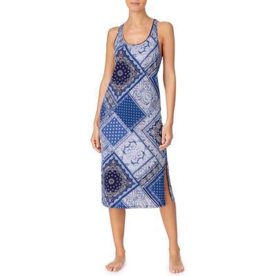 Lauren Ralph Lauren Sleeveless Ballet Nightgown, Blue