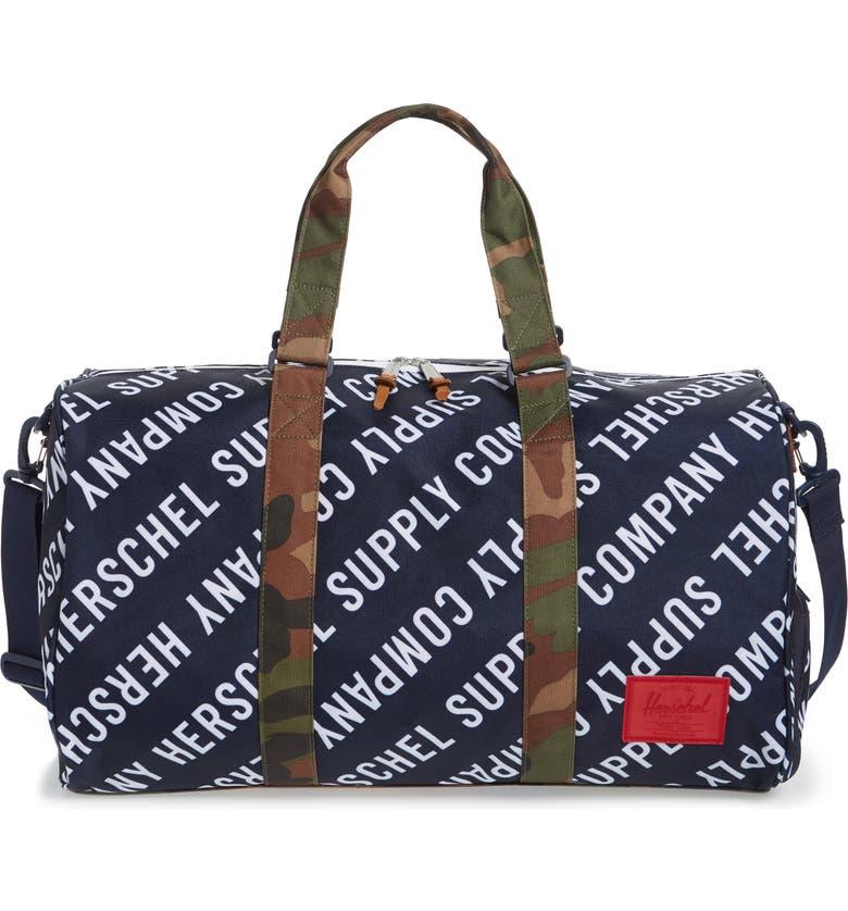 HERSCHEL SUPPLY CO. Novel Duffle Bag, Main, color, 437