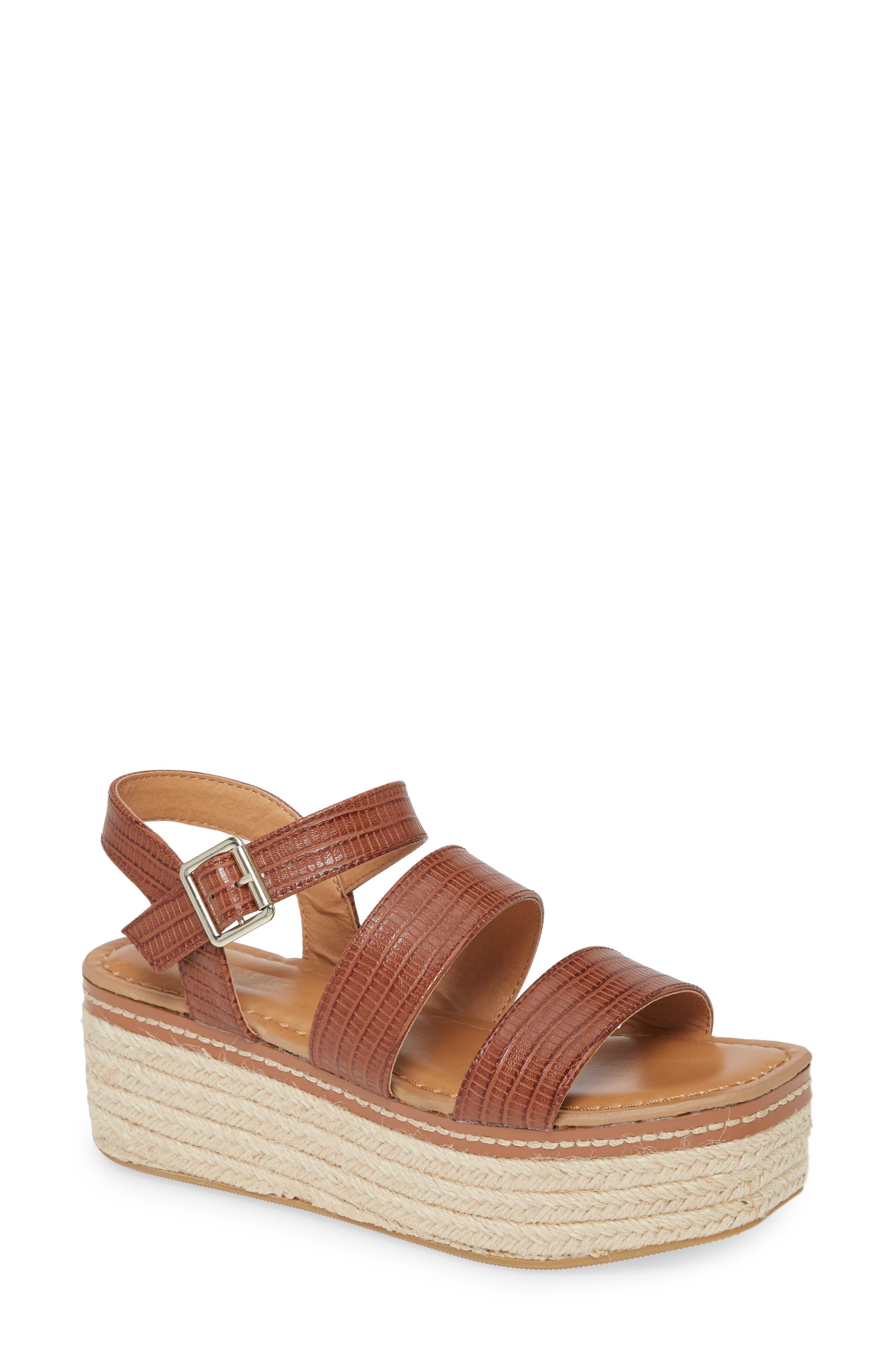 Zinger Platform Sandal