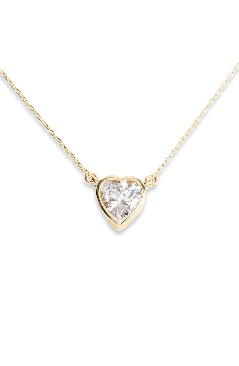 Melinda Maria Heart Pendant Necklace
