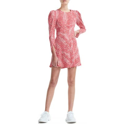 Maje Romie A-Line Minidress, 6 FR - Red