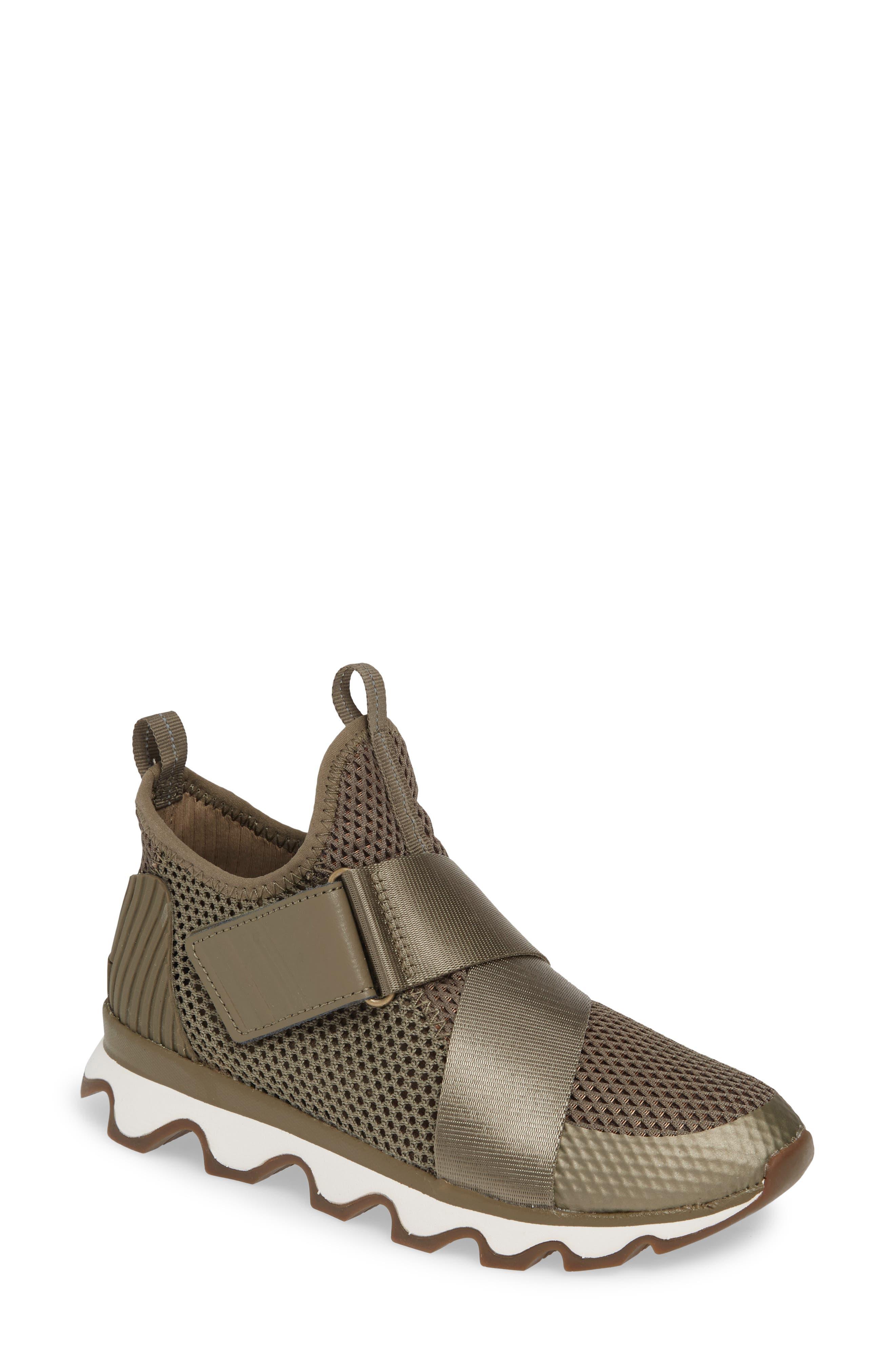 Sorel Kinetic Sneak High Top Sneaker, Green