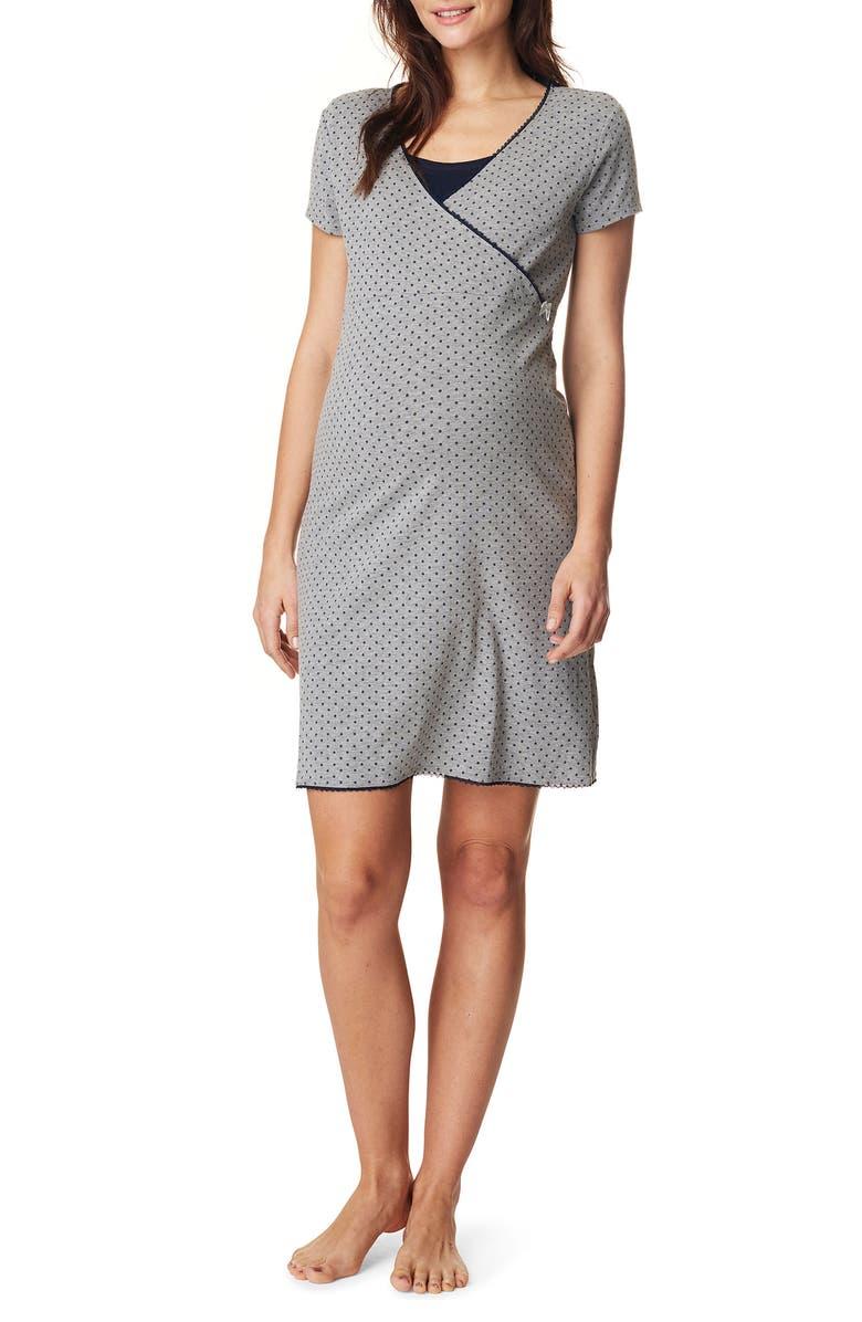 NOPPIES Marni Jersey Maternity/Nursing Dress, Main, color, 024
