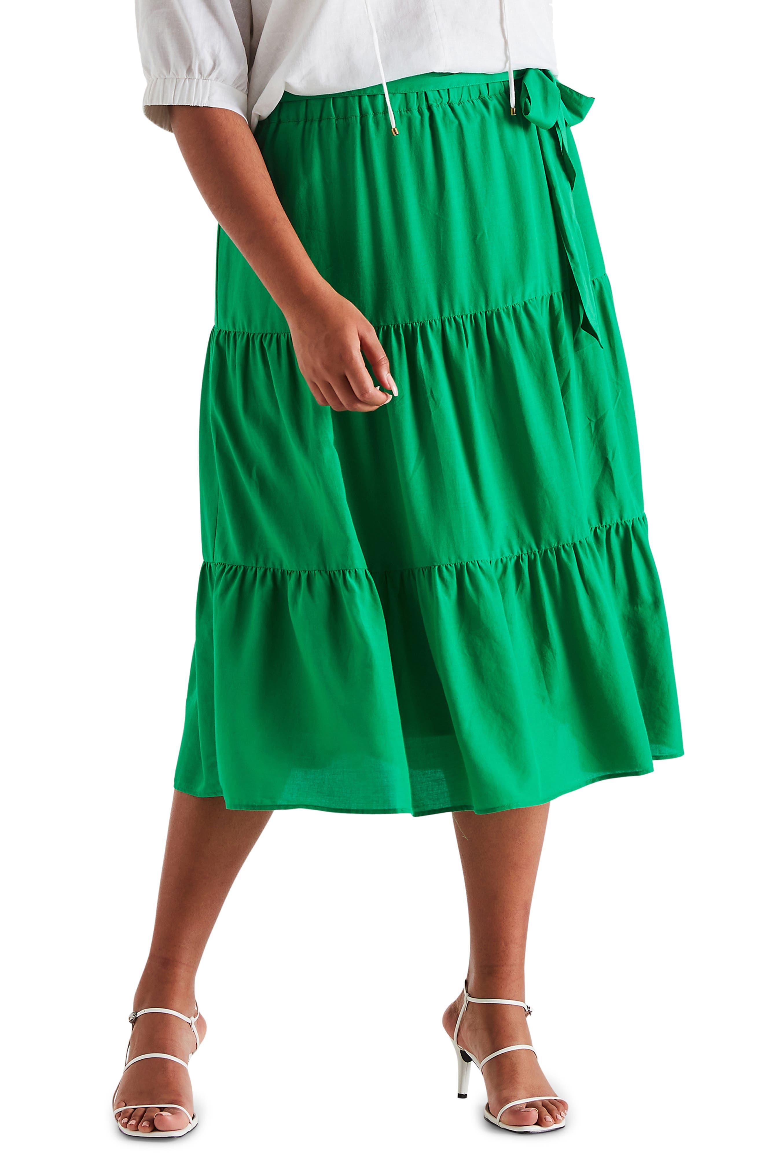 Cruise Tiered Skirt