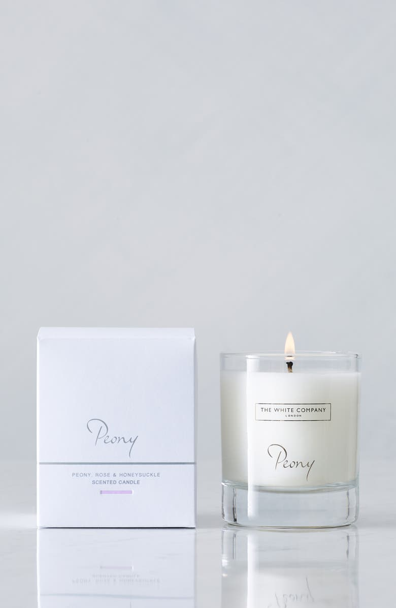 THE WHITE COMPANY Scented Candle, Main, color, 100