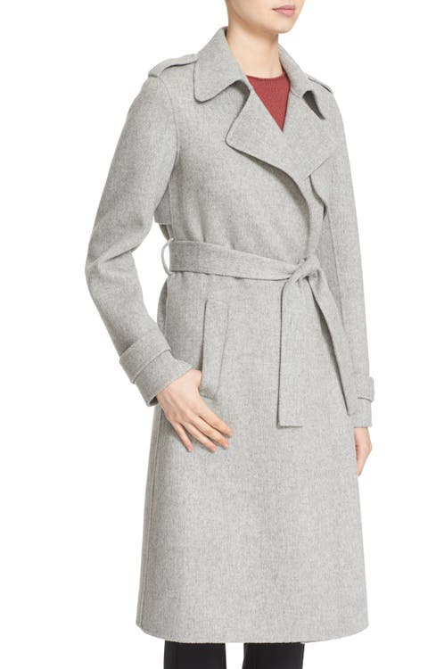 4bf9256d764 Theory 'Oaklane DF New Divid' Wool & Cashmere Trench Coat | Nordstrom