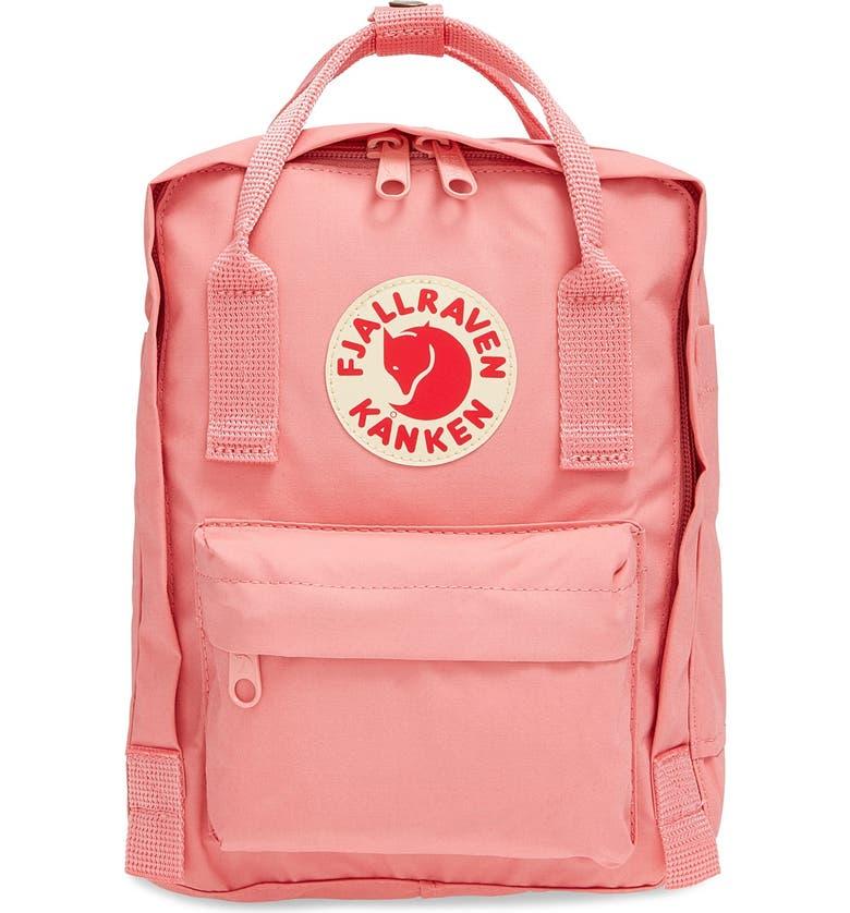 FJÄLLRÄVEN 'Mini Kånken' Water Resistant Backpack, Main, color, PINK