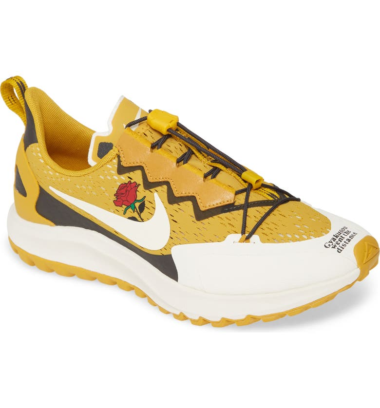 NIKE x Undercover Gyakusou Air Zoom Pegasus 36 Trail Running Shoe, Main, color, MINERAL YELLOW/ DEEP PEWTER