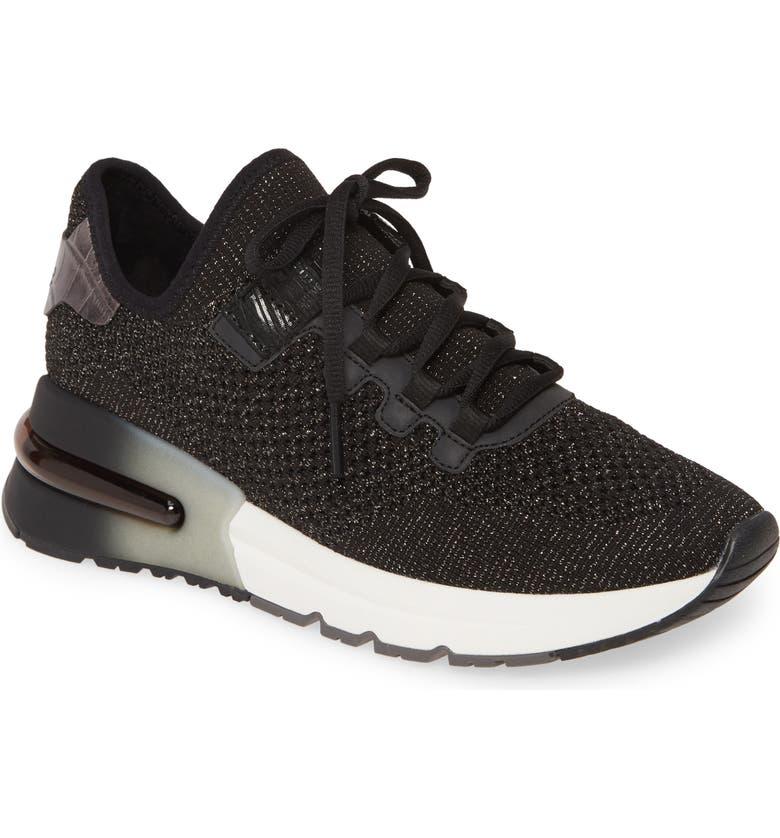 ASH Krush Bis Sneaker (Women0, Main, color, GUNMETAL