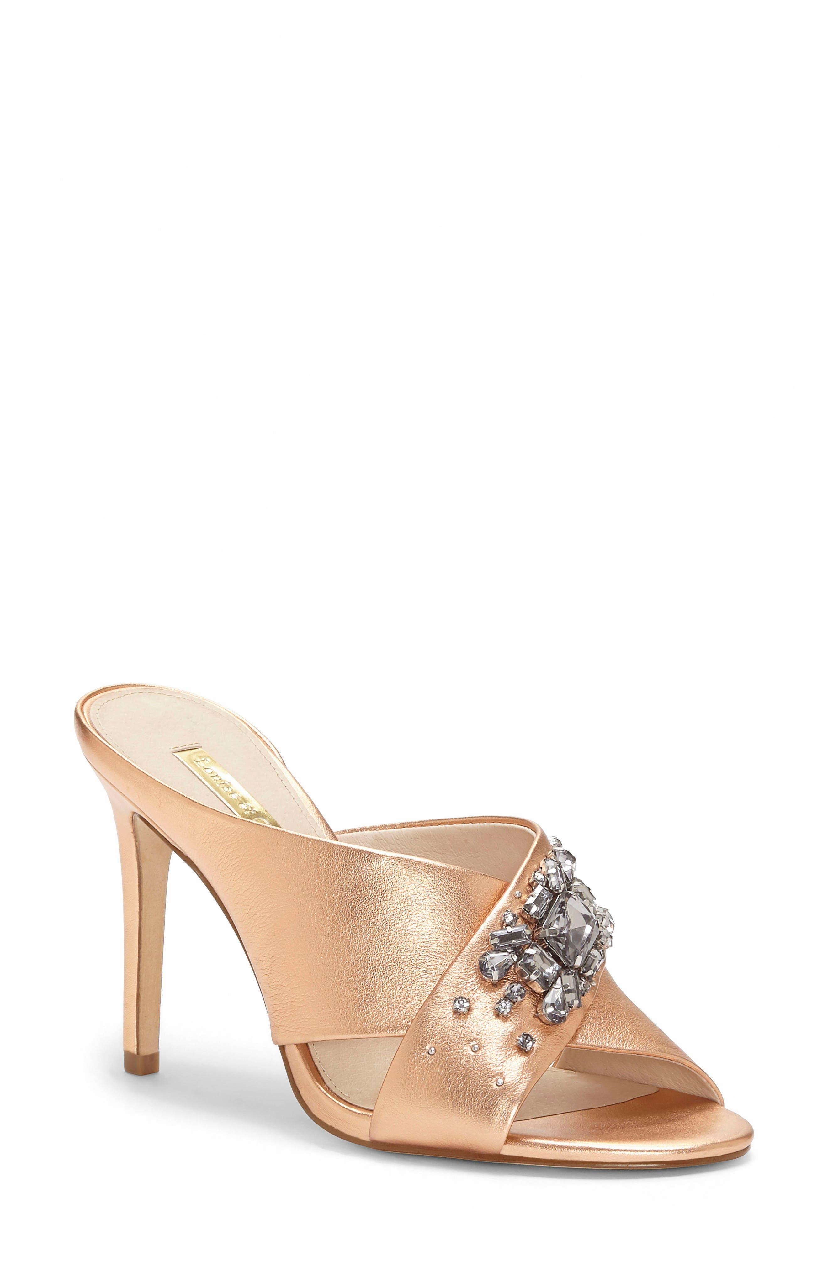 Louise Et Cie Hannety Embellished Sandal, Pink