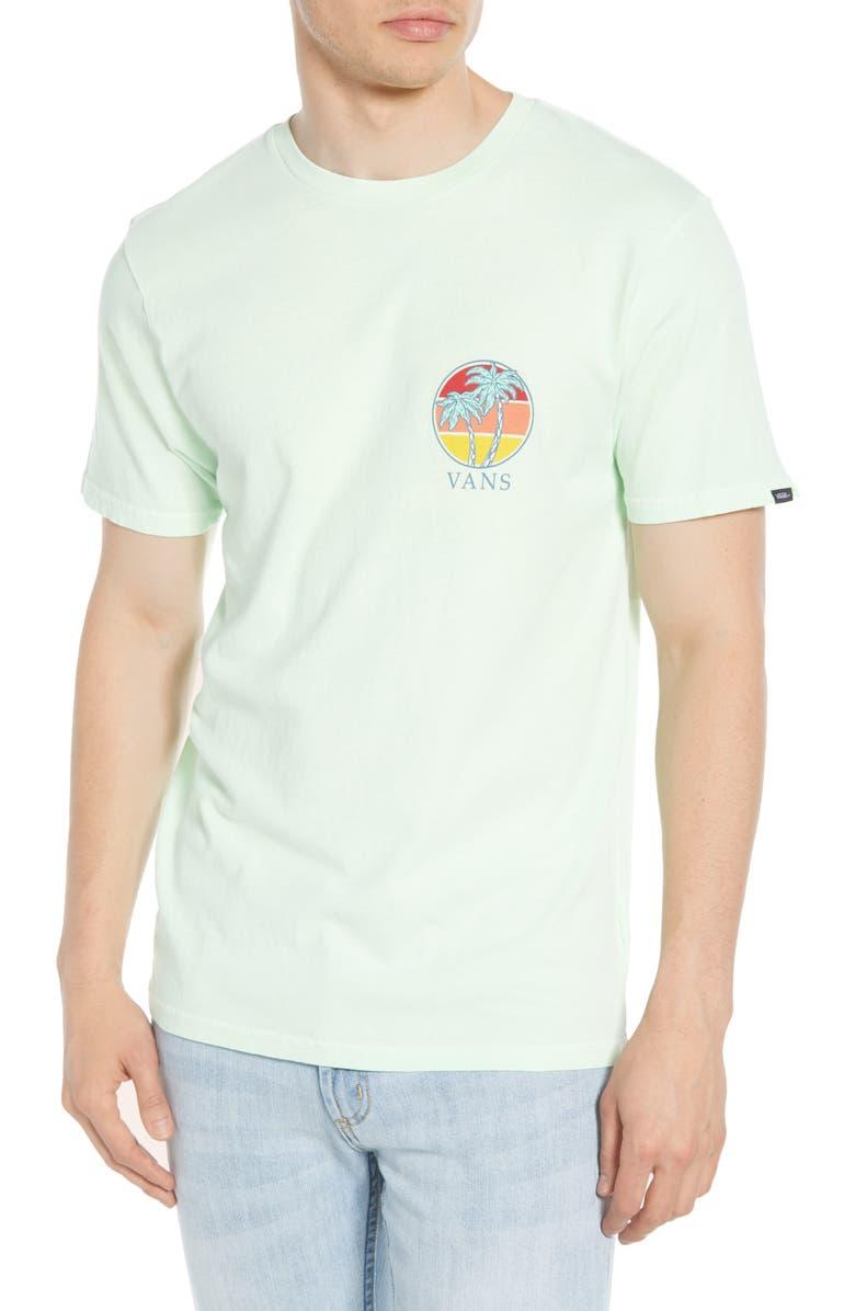VANS Vintage Shorizon Graphic T-Shirt, Main, color, 310