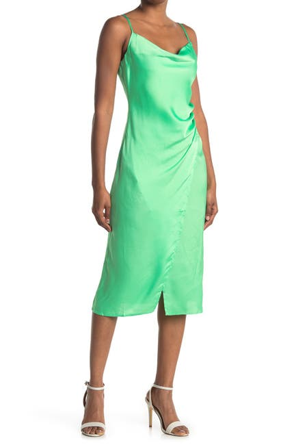 Image of re:named apparel Key Lime Maddy Slip Dress