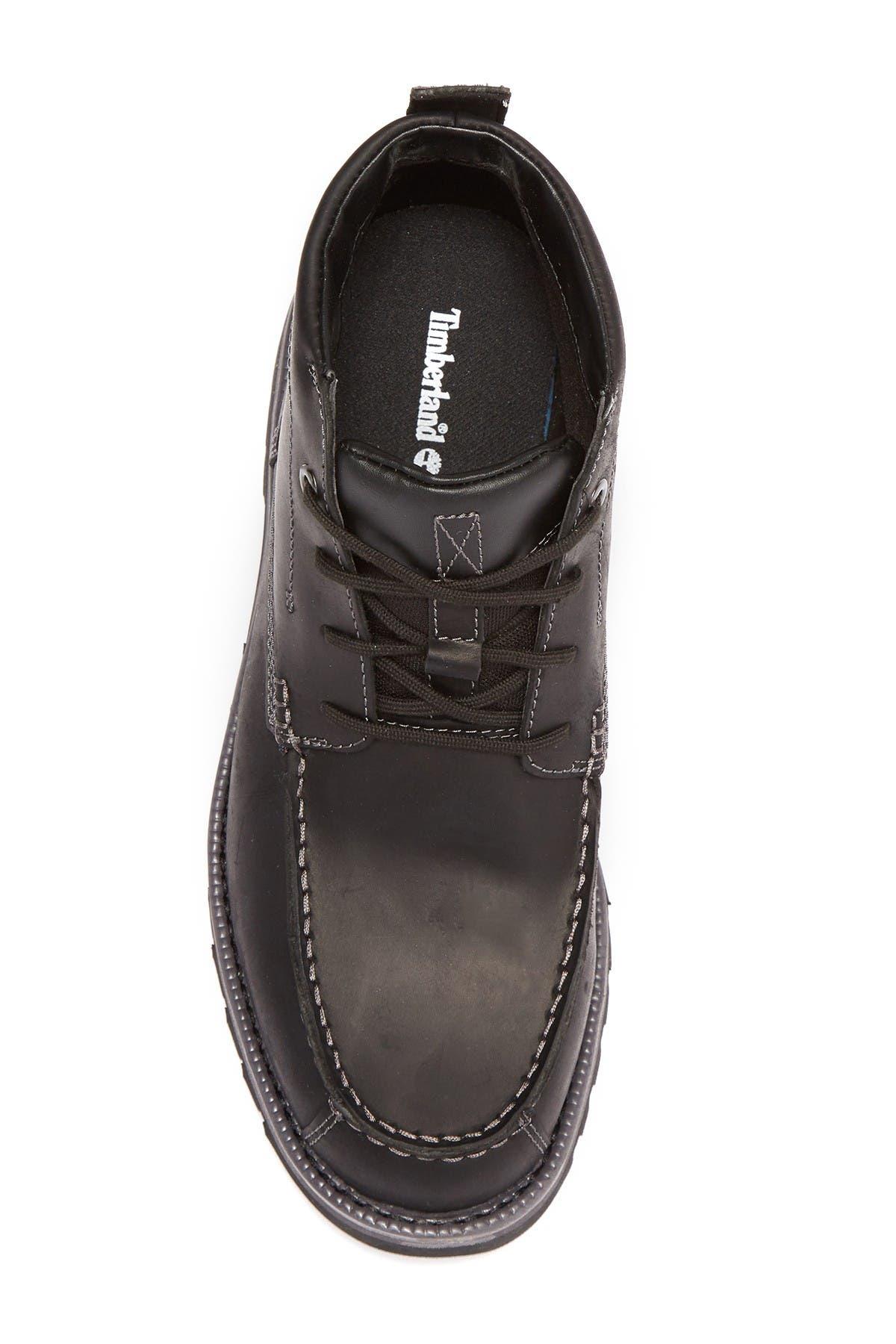 Grantly Leather Moc Toe Chukka Boot