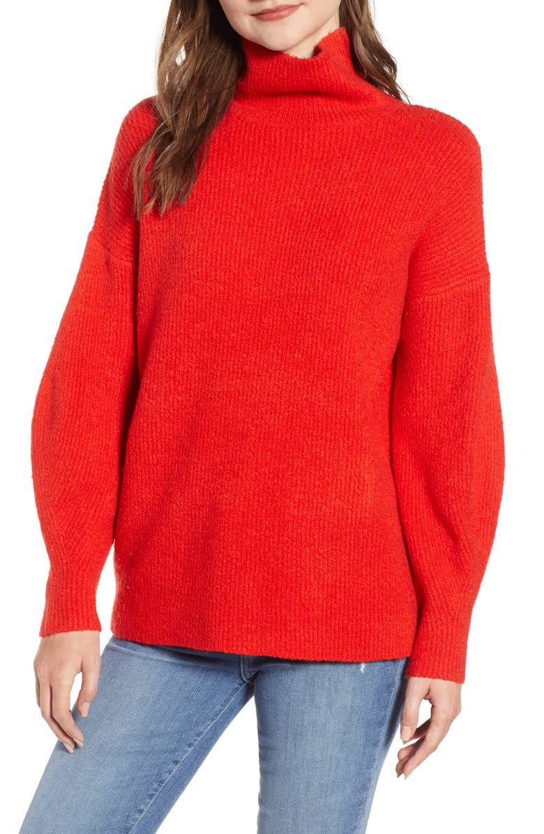 FRENCH CONNECTION Urban Flossy Cowl Neck Sweater, Main, color, 616