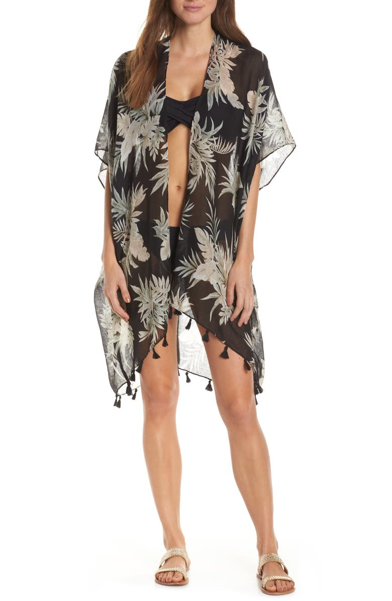 POOL TO PARTY Palm Till Dusk Cover-Up, Main, color, 001