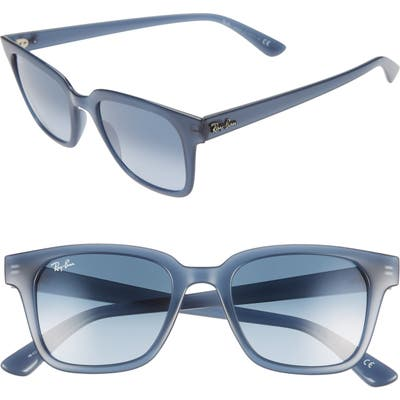 Ray-Ban Wayfarer 51Mm Sunglasses - Trans Blue