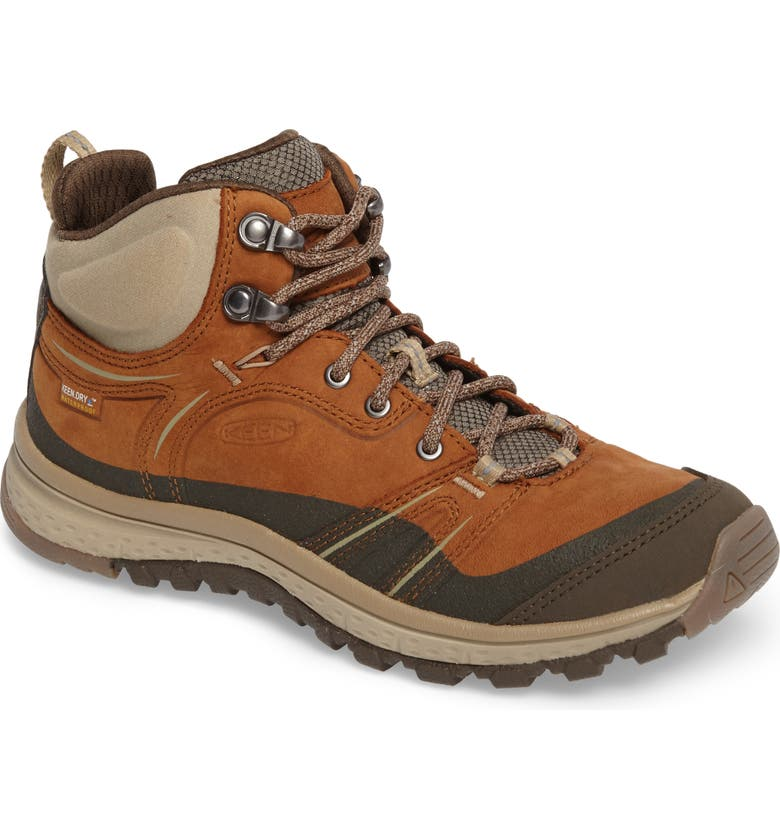e2a23048a43 Terradora Leather Waterproof Hiking Boot