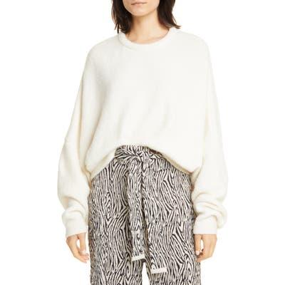 Nanushka Campro Wool Blend Sweater, Ivory