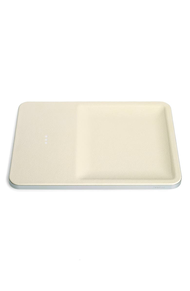 COURANT Catch3 Wireless Charging Tray, Main, color, BONE