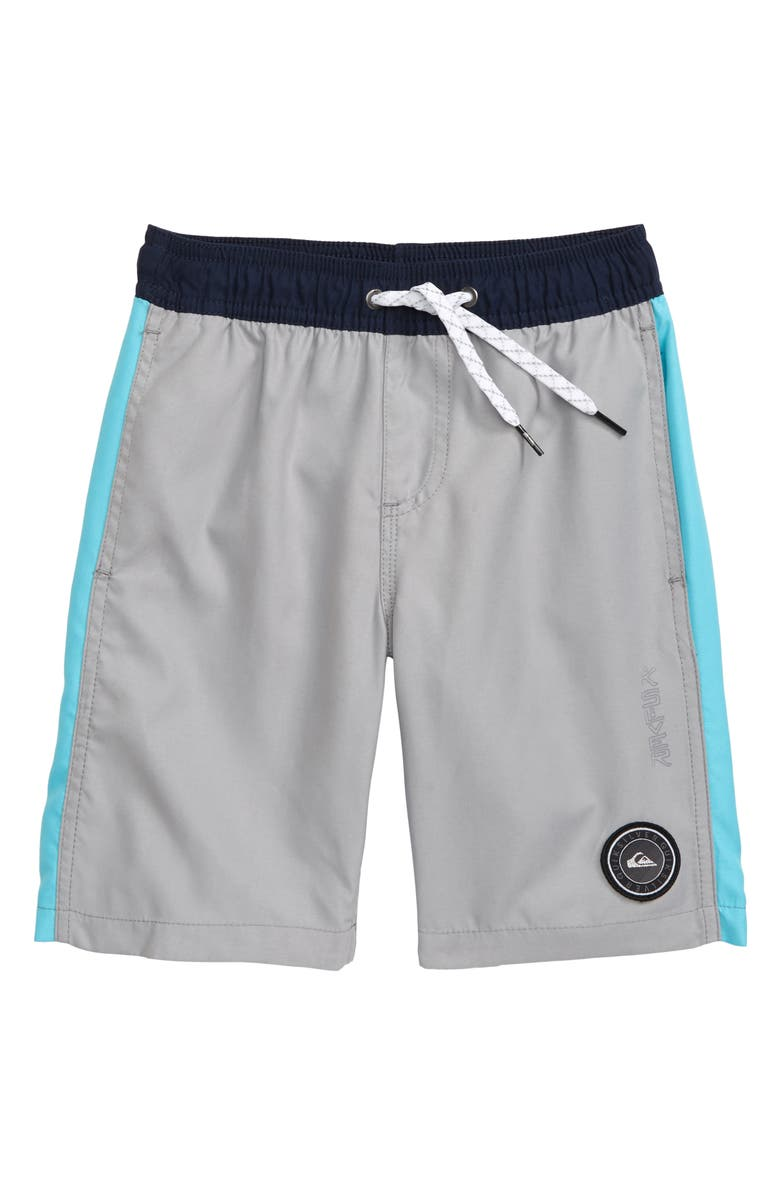 QUIKSILVER Magic Volley Shorts, Main, color, SLEET