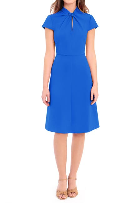 Image of Donna Morgan Twist Knot Fit & Flare Dress