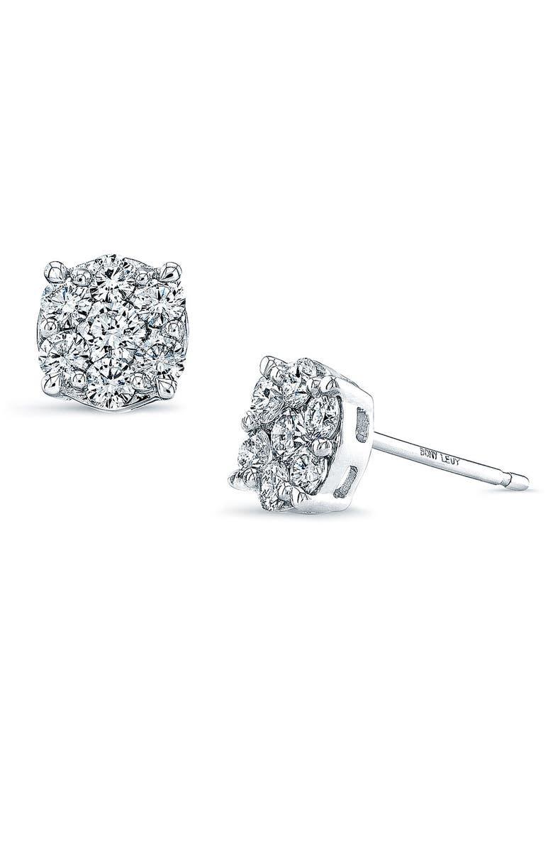 9d69d8229 Bony Levy 'Lucky 7' Diamond Stud Earrings (Nordstrom Exclusive ...
