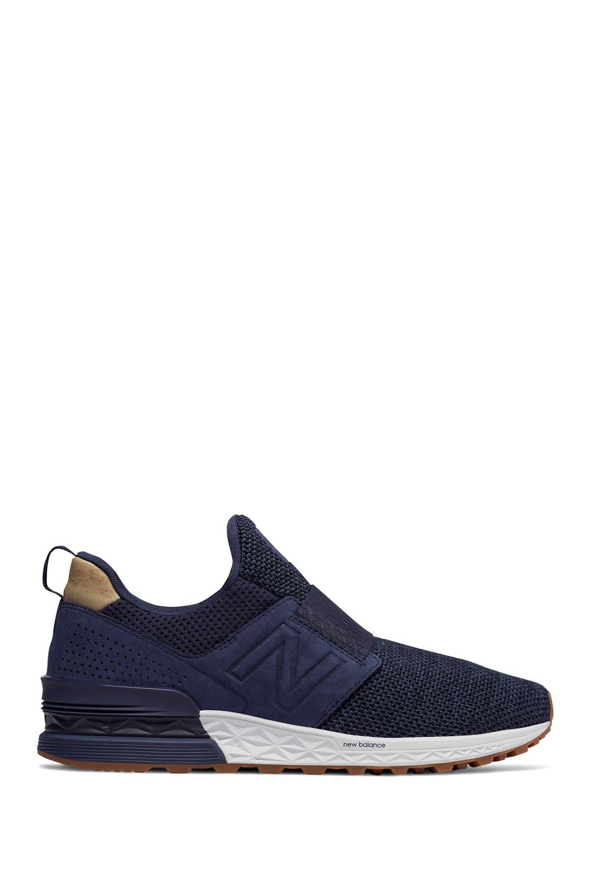 574 Sport Decon Slip-On Suede Sneaker