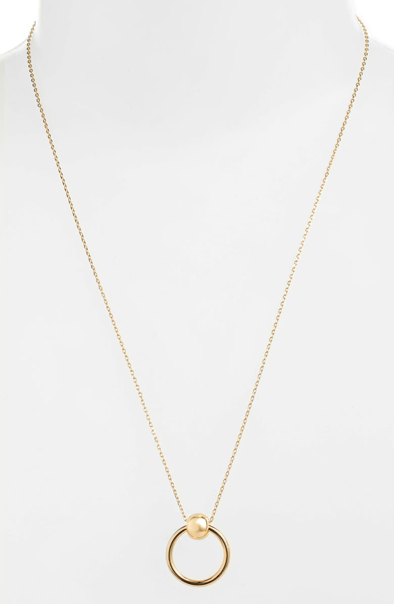 UNCOMMON JAMES BY KRISTIN CAVALLARI Helix Necklace, Main, color, GOLD