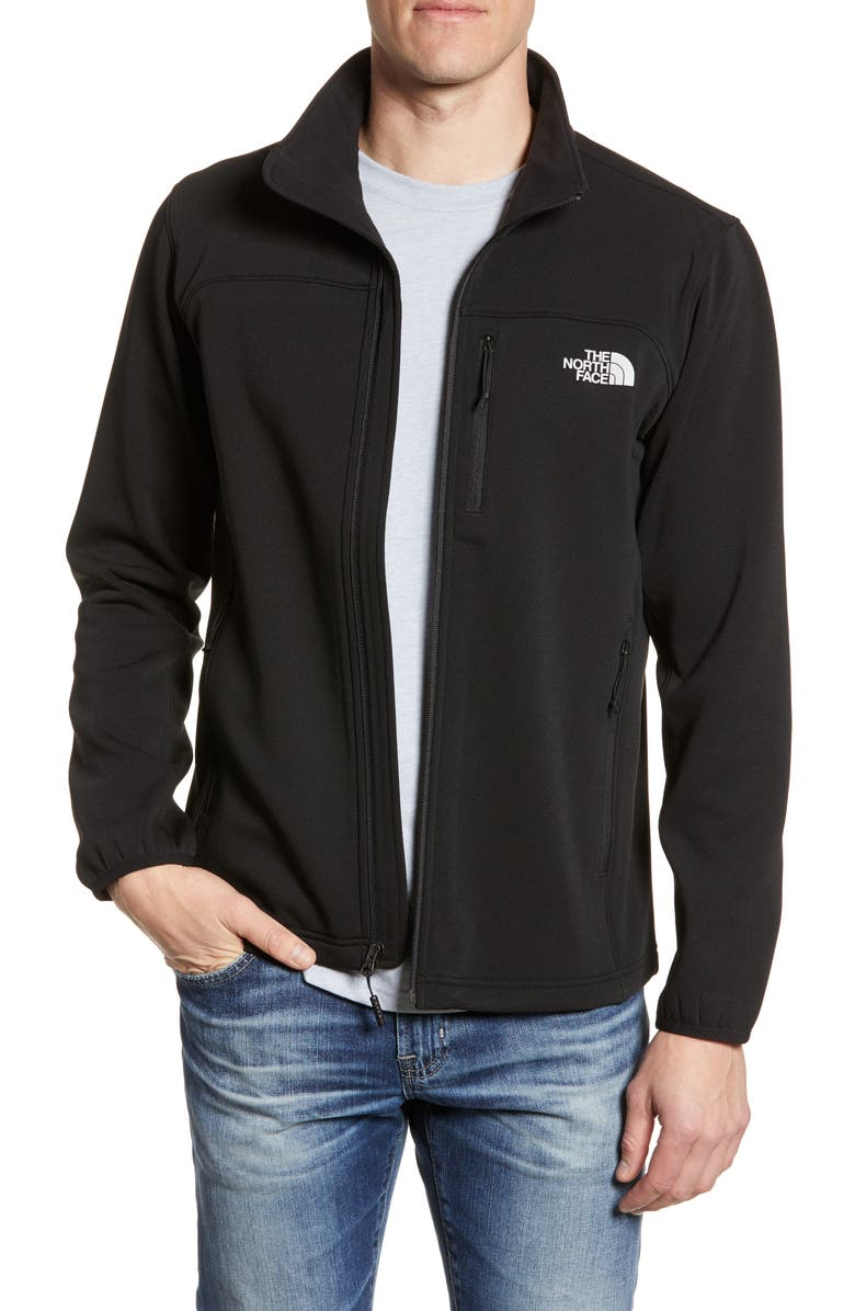 THE NORTH FACE Momentum Fleece Jacket, Main, color, 001