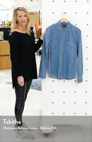 x Alex Costa Button-Down Chambray Shirt, sales video thumbnail