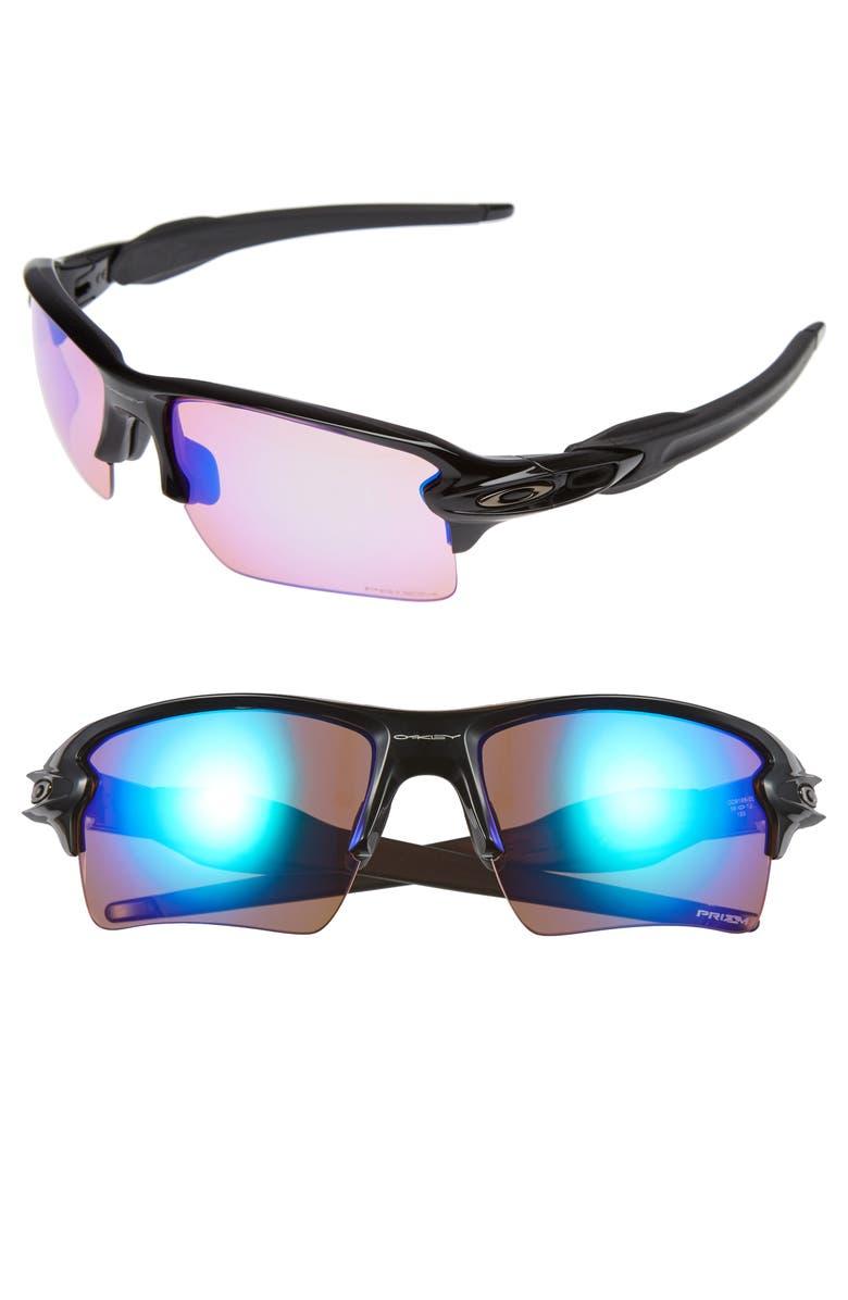 OAKLEY Flak 2.0 XL 59mm Sunglasses, Main, color, BLACK