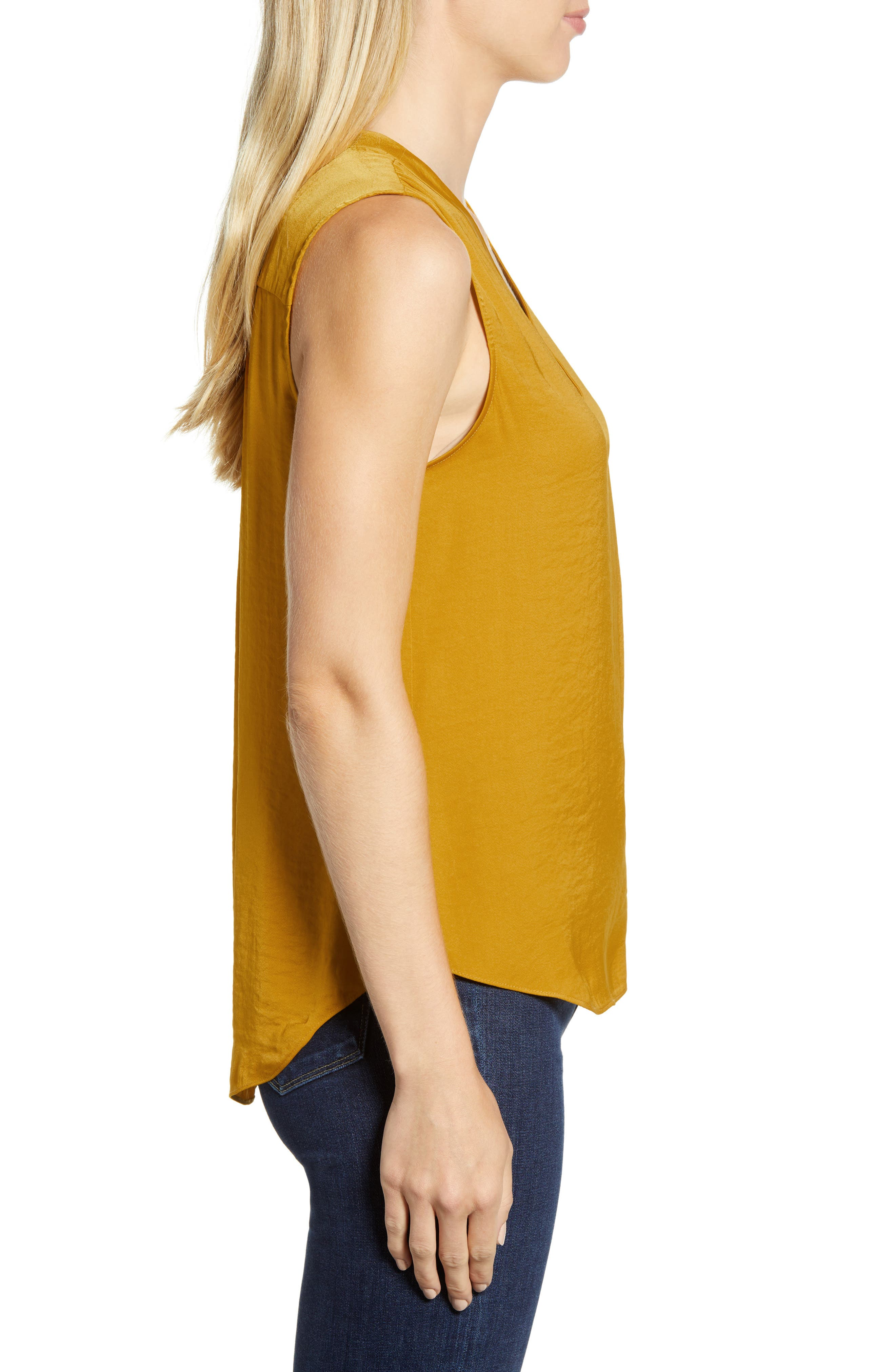 ,                             Rumpled Satin Blouse,                             Alternate thumbnail 265, color,                             753