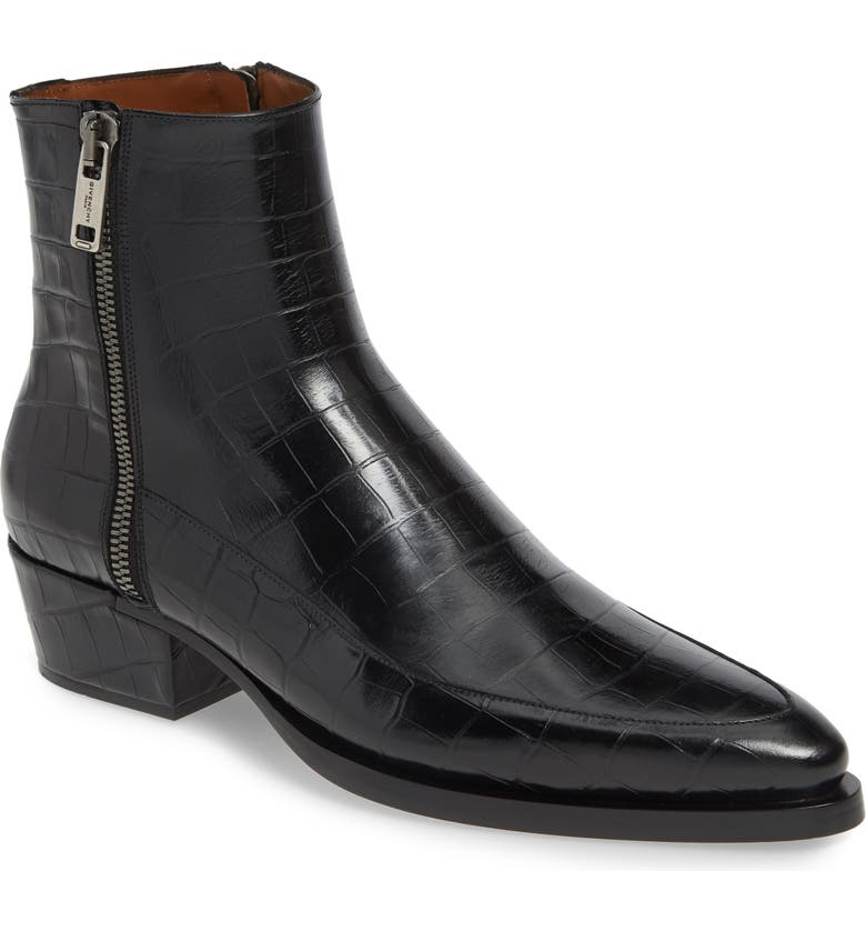 Givenchy Dallas Zip Boot Men