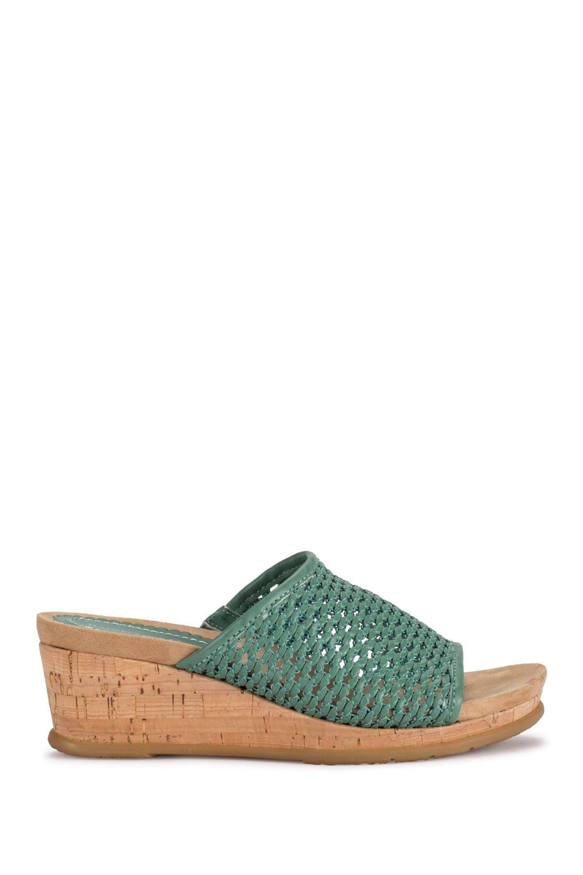 Baretraps Mid heels FLOSSY WOVEN WEDGE SANDAL